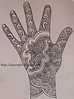 Mango Mehendi from EC of Easy Crafts