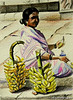 Banana Vendor by Sree