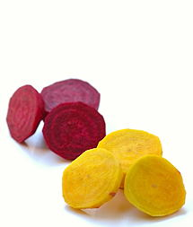 Gold and Red Beetroots