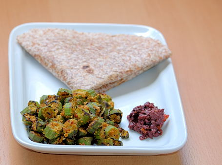 Okra-Poppy Seed Curry