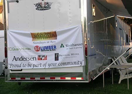 Extreme Makeover Home Edition Trailer in Boardman, Ohio