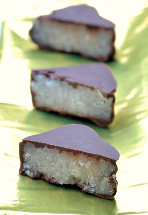 Chocolate Coconut Burfi