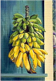 Banana Painting  - From My Home