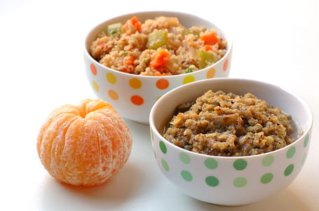 Mo Qua Chutney with Couscous-Vegetable Upma
