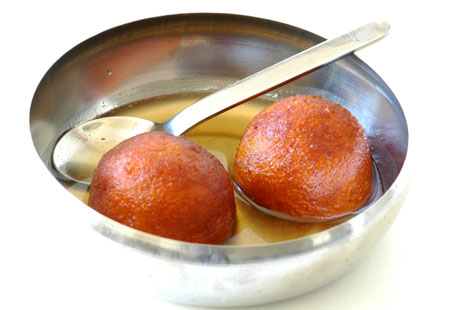 Kova Gulab Jamuns with Sweet Potato