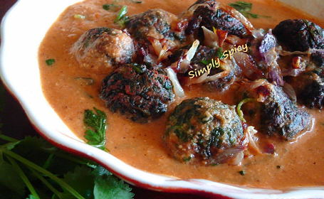 Palak Kofta ~ from Praveena of Simply Spicy