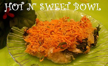 Spinach Casserole ~ from Sukanya Ramkumar of Hot N' Sweet Bowl