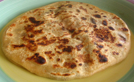 Red Chard Aloo Stuffed Parathas ~ from Musical of Musical's Kitchen