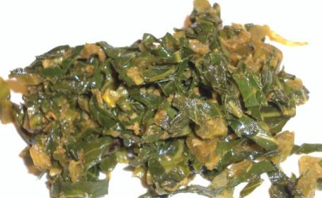 Kova Ilai Varai (Cabbage Leaves Stir-fry) ~ from Mathy of Virundhu