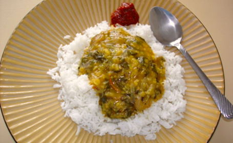 Methi Dal (Fenugreek Dal) ~ from Priya of Aahaar Vihaar