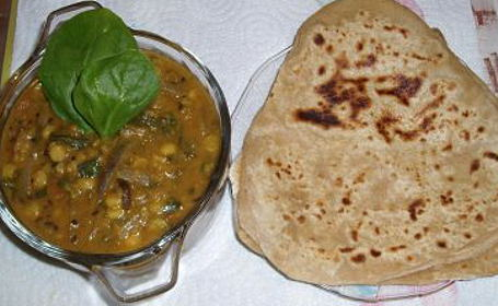 Methi Paratha with Kasuri Methi ~ from Manasi of A Cook @ Heart