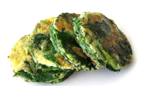 Spinach-Egg Cookies ~ from Tigerfish of Teczcape