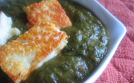 Swiss Chard and Spinach Blend with Paneer ~ from Trupti of The Spice Who Loved Me