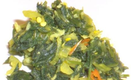 Kang Kung(Water Spinach) Mallung ~ from Mathy of Virundhu