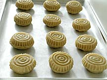 Ma'amouls (Dates-Nut filled Cookies) Ready for Oven