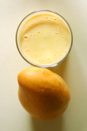 Sweet Mango and a Glass of Mango Lassi ~ for WBB Mango Event