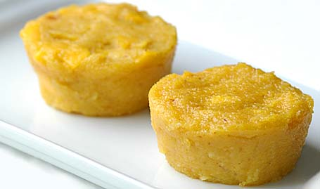 Mango Halwa - in Muffin size