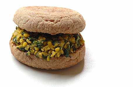 Spinach Moong Dal Sandwich
