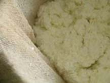 seperating paneer from whey