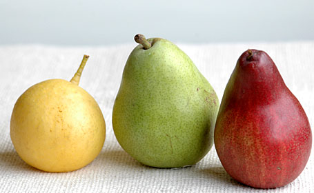 Pears - Yellow, Green and Red