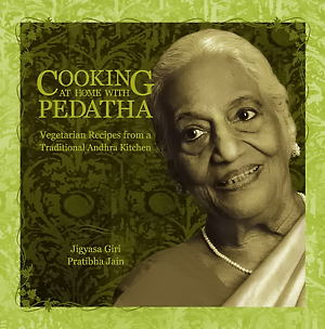 Front Cover of Cookbook ~ Cooking at home with Pedatha