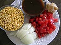 Sambhar ingredients
