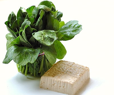 Palak (Spinach) and Tofu